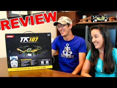 SkyTech TK107 RC Quadcopter with a Camera Review – TheRcSaylors