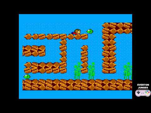 Alex Kidd in Miracle World Gameplay 02
