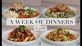 What I Ate for Dinner This Week #1 (Vegan/Plant-based) | JessBeautician