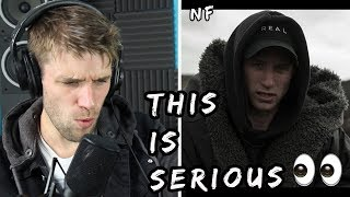 Rapper Reacts To NF Nate!! | FIRST TIME HEARING IT (AUDIO)