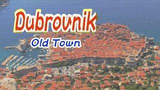 クロアチアドゥブロヴニク旧市街ー観光名所を歩くDubrovnikoldtown