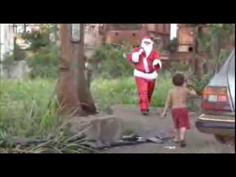 Matéria Papai Noel no Acampamento Luis Maranhão Dez2013