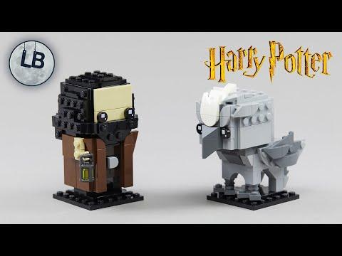 Vidéo LEGO BrickHeadz 40412 : Hagrid et Buck (Harry Potter)