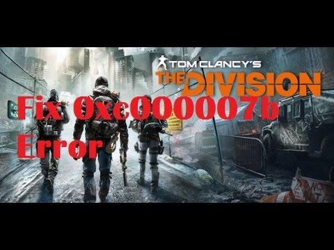 i need help my game dosent work ! 0xc00000007b error!?? someone help