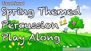 Spring Themed Play Along