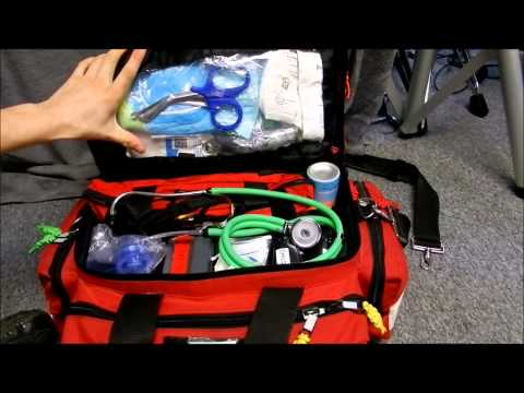 Kemp Professional Trauma bag/EMS/EMT/PARAMEDIC BAG/First responder bag