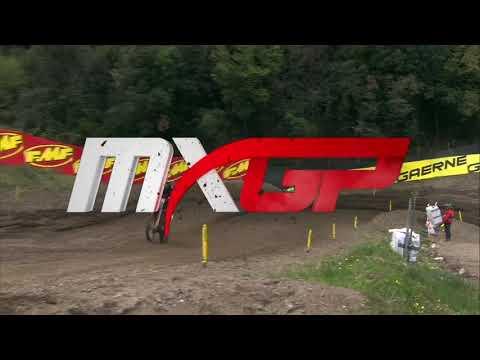 immagine di anteprima del video: Cairoli vs Gajser Battle - MXGP race 1 MXGP of Trentino 2019