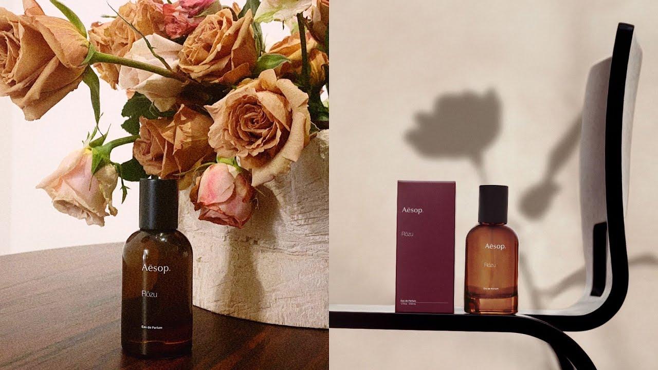 Aeop第一款花香調香水 Rōzu馥香水,「從花到土壤的香味」無關性別禪意中性香