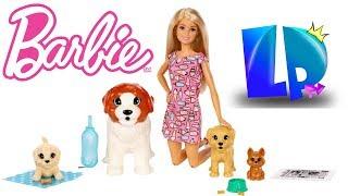 Barbie Opiekunka Piesków!!! Sikający piesek!! Bajka dla dzieci! Mega Zabawa!!!