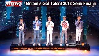 """Bring It North  """"A Million Dreams""""  PERFECT SONG Britain's Got Talent 2018 Semi Finals 5 BGT S12E12"""