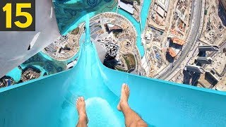 15 MOST INSANE BANNED Waterslides