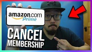 How to CANCEL Amazon Prime Membership (Cancel Amazon Prime Free Trial)