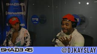 Kevin Gates interview with Dj Kayslay on Shade45 pt.1