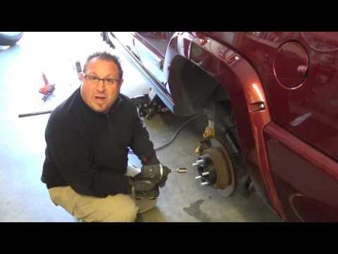 Jeep Commander Wheel Spacer Install DIY