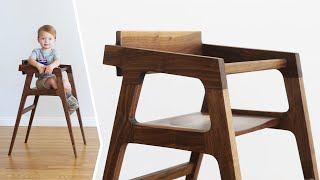 Designing and Building a High Chair - Woodworking