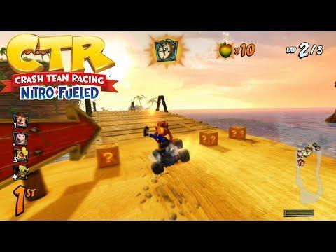 Crash Team Racing Nitro Fueled – Crash Cove FULL RACE GAMEPLAY!