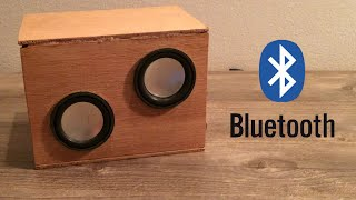 bluetooth hoparlör yapımı how to make bluetooth speaker