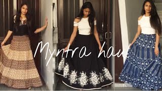 Myntra Haul | Long Skirts Special