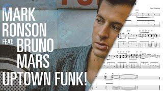 Tenor Sax  - Uptown Funk - Mark Ronson Sheet Music, Chords, & Vocals