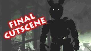 FINAL SISTER LOCATION CUTSCENE | Golden Freddy V.Hard Mode | Normal & Brightened HD w/ Subtitles
