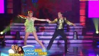 Baile Jive: Anna Carina y Carlos Suárez (El Show de los Sueños PERU 07-11-09)