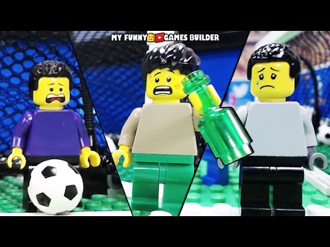 LEGO Football Fail • Funny Soccer Vines in Lego Stop Motion Animation