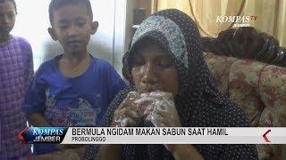Seorang Ibu Memiliki Kebiasaan Makan Sabun