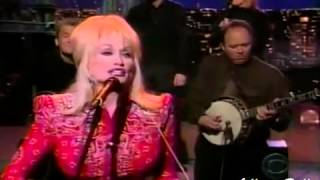 Dolly Parton Shine on Letterman