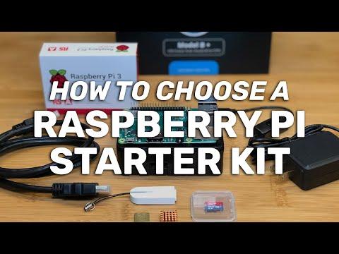 How to Choose a Raspberry Pi Starter Kit!