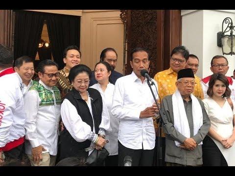 Konpres Terbaru: Jokowi Akui Kemenangannya Atas Prabowo Versi Quick Count, Tak Akan Berubah Lagi