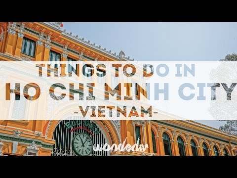 Video Things to do in Ho Chi Minh City Vietnam -  1 Day in HCM City in HD