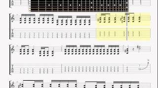 Anti Flag   Stars & Stripes GUITAR 2 TABLATURE
