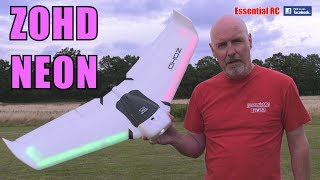 ZOHD Orbit NEON Night Flying Wing RC Airplane FPV PNP (Integrated LED Light Strip)