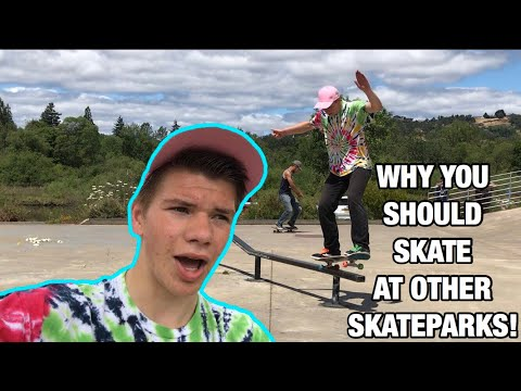 Why You Should Skate At Other Skateparks!