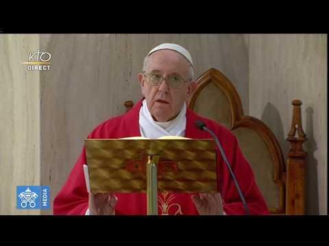 Messe du pape François du 14 mai 2020