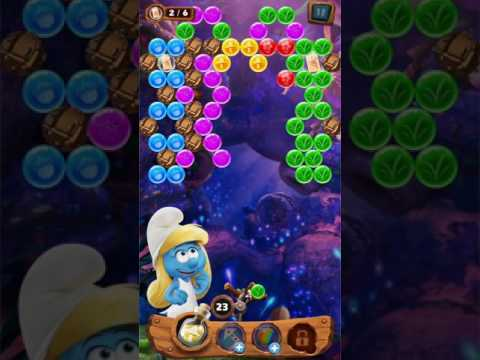 Vídeo do Smurfs Bubble Story