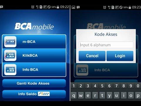 Video Cara Ganti Kode akses M bca