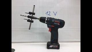 Halterung für meine neuen Akkuschrauber GSR und GSB 12V von Bosch