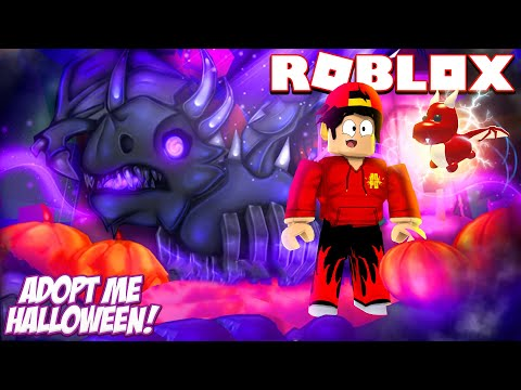 ROBLOX - MY DRAGON EVOLVED INTO A SHADOW DRAGON!!!