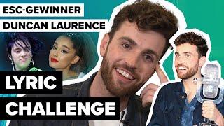 ESC-Gewinner Duncan Laurence Covert Ariana Grande & Billie Eilish In Der Digster Pop Lyric Challenge