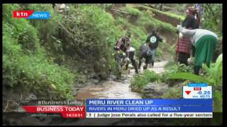 Business Today 24th November 2016 - Meru County residents conduct river clean up