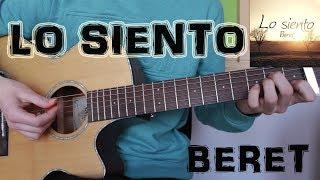 """Cómo Tocar """"Lo Siento"""" Beret En Guitarra. TUTORIAL FÁCIL"""
