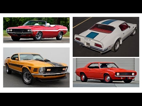 5 Fantastic Muscle Cars For Under $5,000