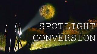 DIY Spotlight From A Flashlight