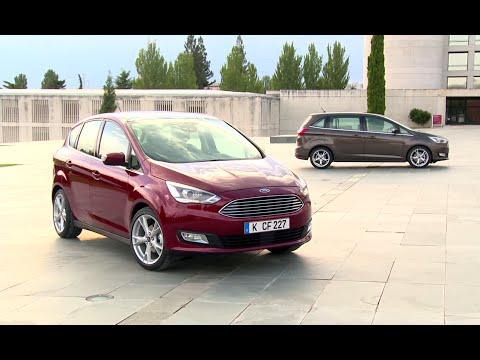 Ford C Max Grand Минивен класса M - рекламное видео 1