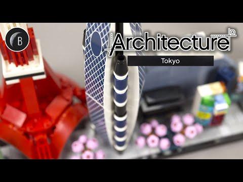 Vidéo LEGO Architecture 21051 : Tokyo (Japon)