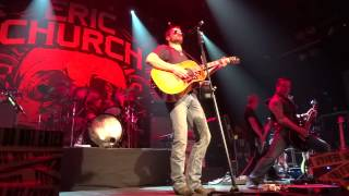 Eric Church - I'm Gettin' Stoned (live)