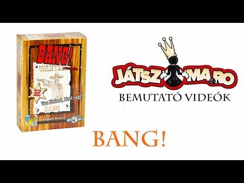 Bang szabályismertető - Bang rules in Hungarian