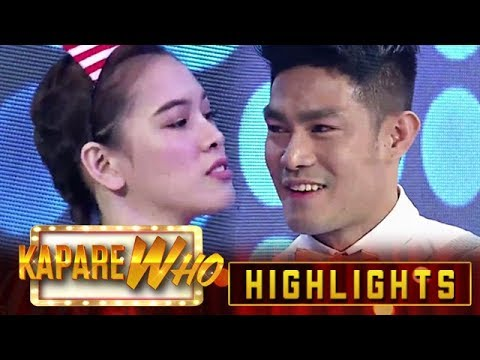 Ate Girl Jackque challenges Ion to do the Mathematics dance | KapareWho