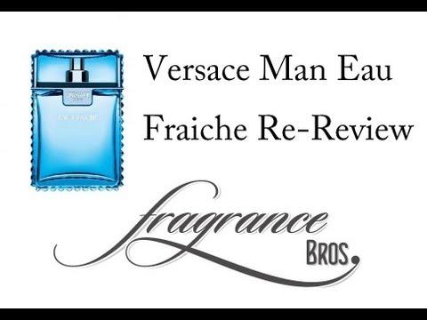 Versace Man Eau Fraiche Re-review! Unique Citrus!